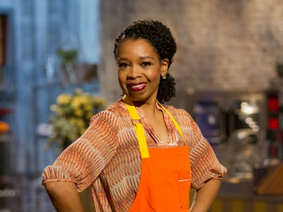Simone Faure on Spring Baking Championship - COURTESY OF THE FOOD NETWORK
