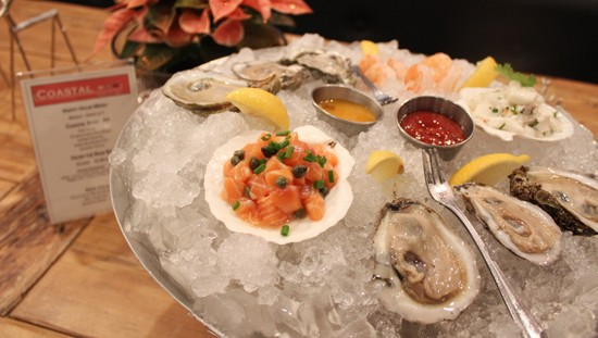 Oysters will be one offering from Coastal Bistro and Bar for this summer's Clayton Restaurant Week. - PHOTO BY MABEL SUEN