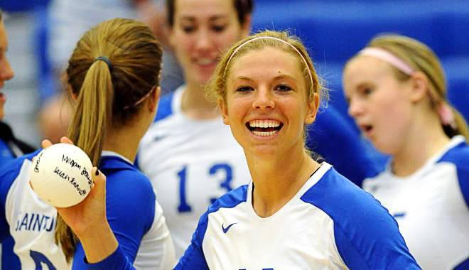 Megan Boken, a former SLU volleyball player, was murdered during a daylight robbery gone wrong in the Central West End on August 18, 2012. - COURTESY OF ST. LOUIS ATHLETICS