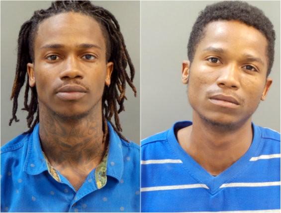 Dorian and Damonte Johnson. - ST. LOUIS METROPOLITAN POLICE DEPARTMENT