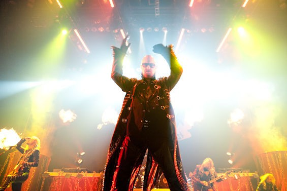 The almighty Judas Priest graces us with its presence this Tuesday. See more photos from the band's 2011 concert at the Family Arena in RFT Slideshows. - PHOTO BY JON GITCHOFF