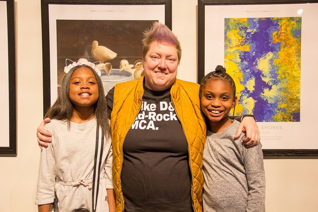 Jefferson Elementary School students Tyler Carlis, left, and Eliyah Grimes-Jackson, right, were among the ten MetroScapes winners. - COURTESY OF BI-STATE DEVELOPMENT