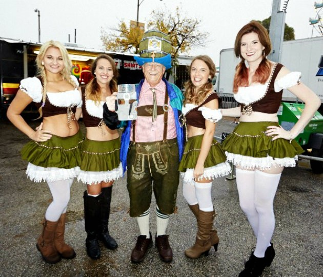 Expect beer and dirndls galore at the first-ever Great North American Oktoberfest next Fall in St. Louis. - THEO WELLING