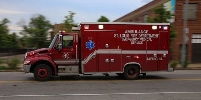 St  Louis Man Found Lying in Middle of Road Steals Ambulance When