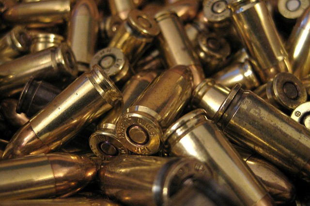Benjamin and Joseph Price had guns and more than 1,000 bullets when arrested, authorities say. - COURTESY JOE LOONG