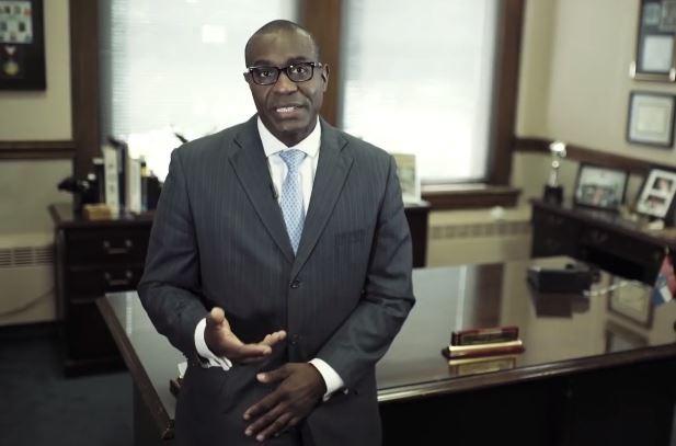 St. Louis Board of Aldermen President Lewis Reed. - VIA YOUTUBE