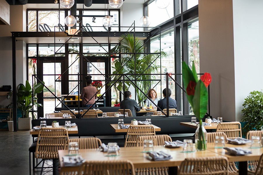 Yellowbelly is located in the posh Citizen Park building in the heart of the Central West End. - MABEL SUEN