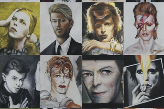 David Bowie's been a lot of different people over the years, eh? - MARK DETHROW