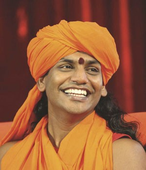 "Nithyananda, a self-professed ""living avatar,"" has exported his spiritual teachings across the world. - COURTESY OF NITHYANANDA.ORG"