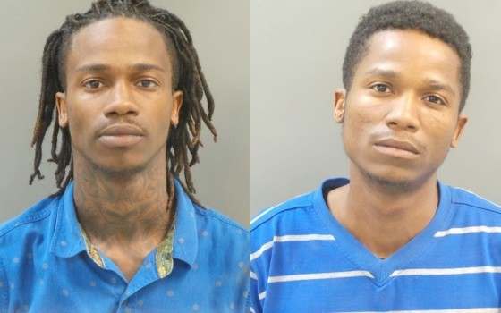 Dorian and Damonte Johnson claim police used excessive force during the May 6 arrest. - IMAGE VIA ST. LOUIS COUNTY POLICE