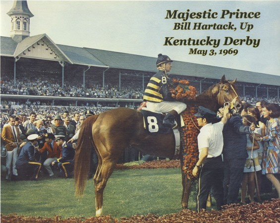 Bill Hartack's fifth and final Kentucky Derby win. - COURTESY GARY CONDRA