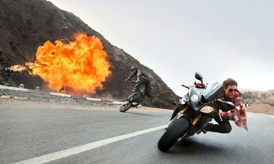 Still from Mission:Impossible - PHOTO BY BO BRIDGES COPYRIGHT 2015 PARAMOUNT PICTURES