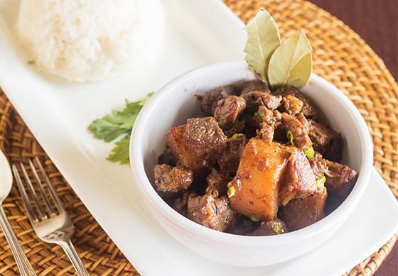 A filipino staple dish - PHOTO BY MABEL SUEN