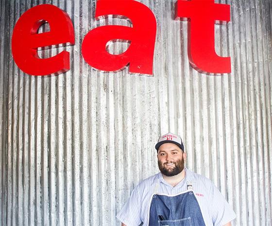 Chef Rick Lewis.