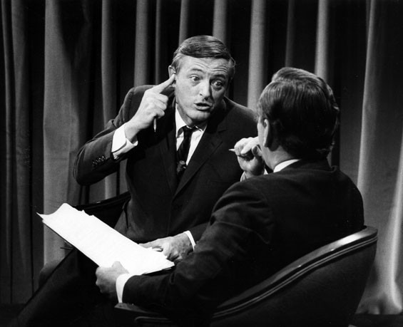 William F. Buckley and Gore Vidal. - COURTESY MAGNOLIA PICTURES