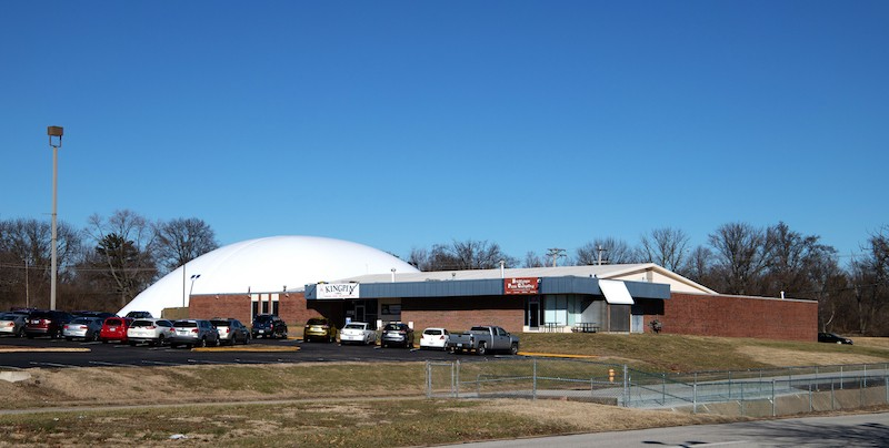 Shenberg worked with Arizon Building Systems, a - manufacturer in Maryland Heights, on the dome's production and installation. - COURTESY OF ARIZON BUILDING SYSTEMS