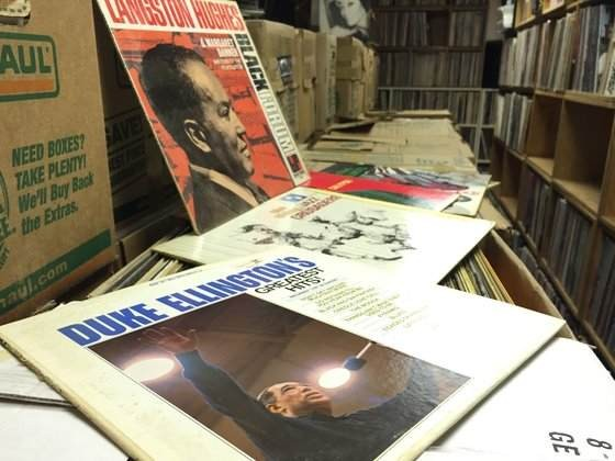 "The ""Red Vest Sale"" will feature thousands of classic jazz records. - KEVIN KORINEK"