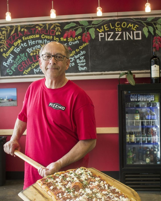 Pizzino owner Jim Zimmerman.