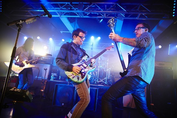 WEEZER WILL PERFORM AT PEABODY OPERA HOUSE ON TUESDAY, DECEMBER 8.