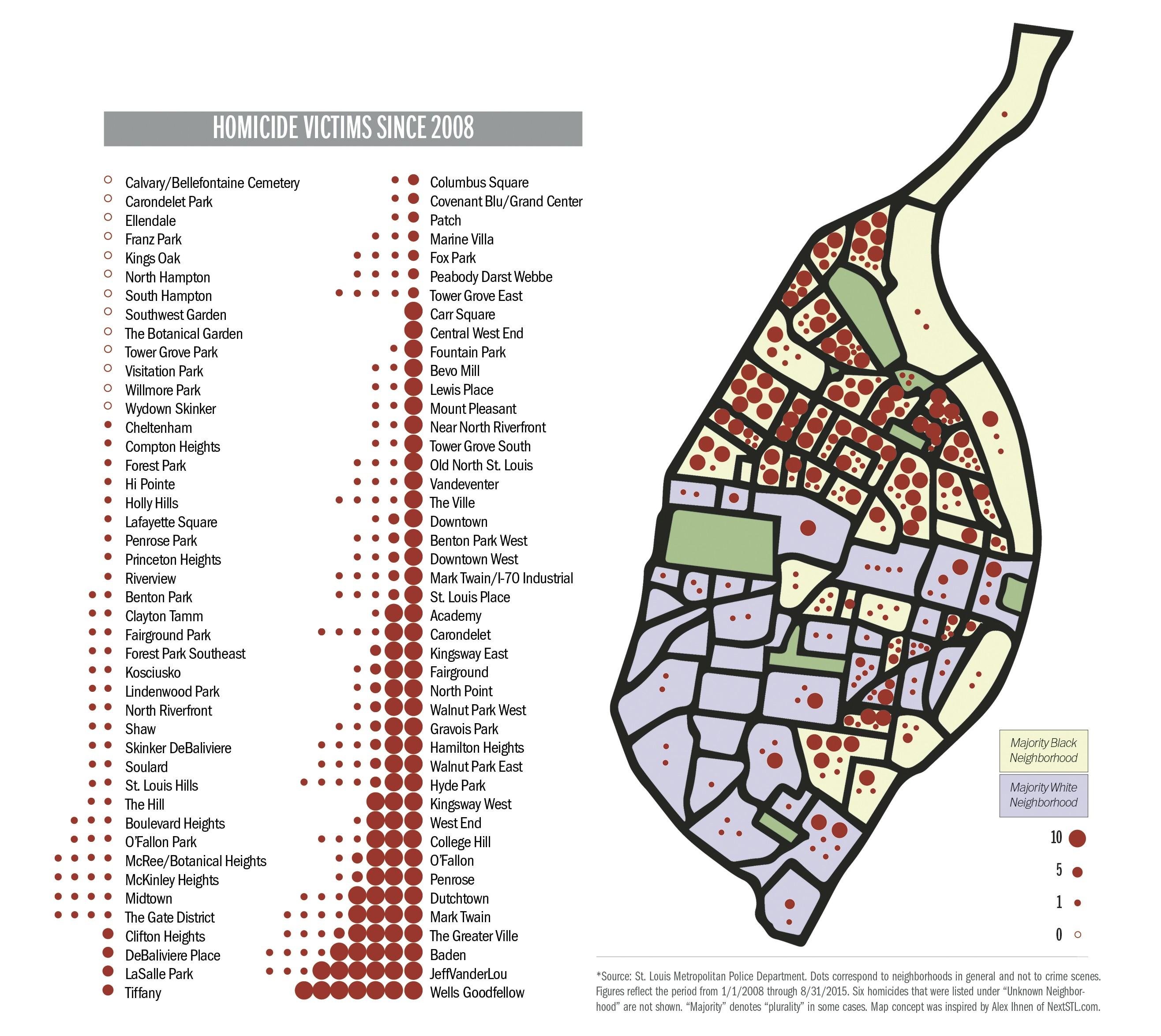 St. Louis Murder Map Tracks Killing by Neighborhood | News Blog