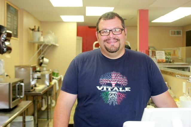 Mike Vitale of Vitale's Deli in Glendale. - CHERYL BAEHR