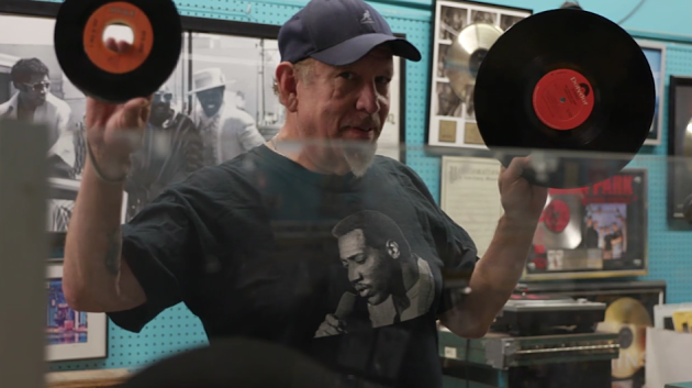 """Tom """"Papa"""" Ray explains the difference between a 45 and an LP — and why they'll always be superior to mp3s. - SCREENSHOT"""
