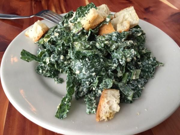 Retreat's kale caesar salad. - PHOTO BY SARAH FENSKE