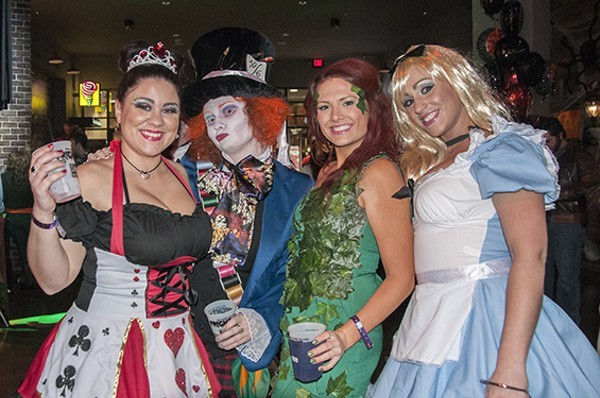 Halloween fun at Ballpark Village last year. - PHOTO BY CAROLINE YOO