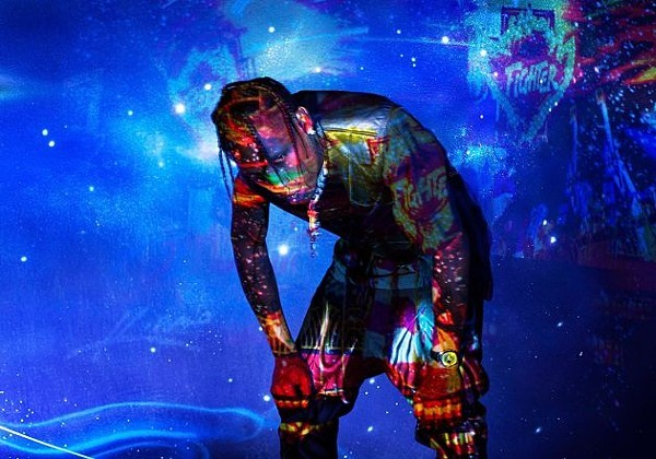 Good Night St  Louis, I Love You,' Travis Scott Tells Kansas City