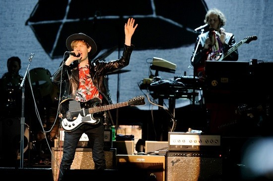 Beck will perform at Hollywood Casino Amphitheatre on Tuesday, July 30. - JASON STOFF