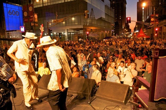 St. Louis' Bluesweek festival, which moved to Chesterfield in February 2014 as Summer Rocks legislation was in process. - MIKE KOCIELA