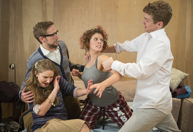 Bad Jews opened Thursday at the Jewish Community Center. - PHOTO COURTESY OF ERIC WOOLSEY