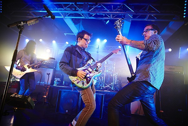 Weezer photographed at Plush in 2014 - PHOTO BY STEVE TRUESDELL