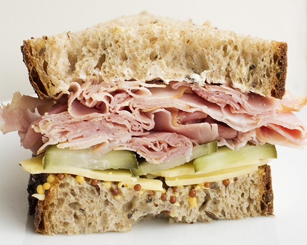 THE HAM AND CHEDDAR AT UNION LOAFERS | MABEL SUEN