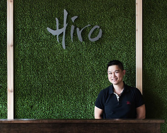 Hiro Asian Kitchen owner Bernie Lee is opening his kitchen to up-and-comers. - JENNIFER SILVERBERG