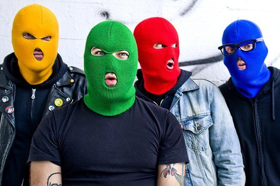 Ring in the New Year with Masked Intruder and tons of local punk at the Firebird this Thursday night. - PHOTO BY KATIE HOVLAND