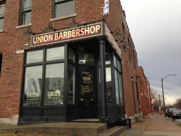 Union Barbershop in Soulard incorporates old-fashioned barbering into a hipster vibe. - DOYLE MURPHY