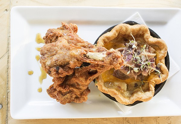 The duck & pie is on the Restaurant Week menu at the Libertine, though it will cost you extra. - PHOTO BY MABEL SUEN