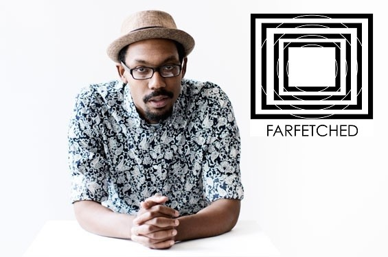 Damon Davis, founder of St. Louis' Farfetched collective. - PHOTO BY JENNIFER SILVERBERG