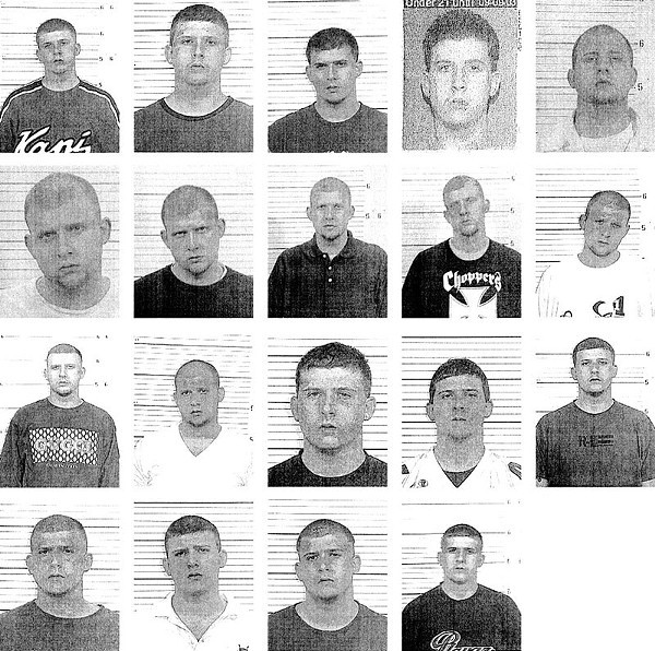 Reggie Allen's dozens of arrests span eight jurisdictions.