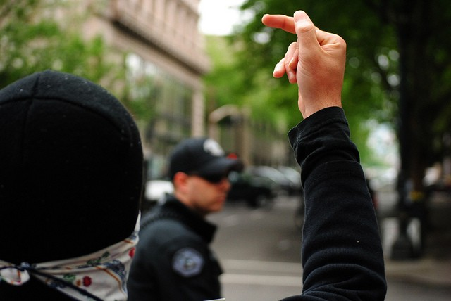 Swear at a cop without being arrested? Thank the First Amendment. - VIA FLICKR