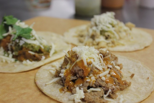"Tacos! Cha Cha Chow has been named RFT's ""Best Food Truck,"" so you know the eats are good. - PHOTO BY SARAH FENSKE"