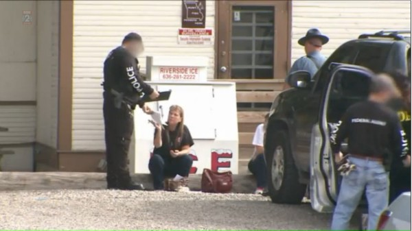 The son of Missouri's largest retailer of synthetic has drugs pleaded guilty to federal crimes. - IMAGE VIA FOX 2