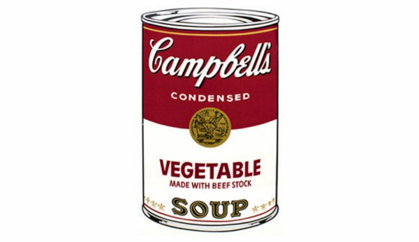 Seven of the Springfield Art Museum's 'Campbell's Soup I' screen prints by Andy Warhol were stolen. - IMAGE VIA FBI