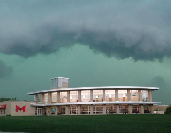This crazy shot was taken at Maryville University. - PHOTO COURTESY OF INSTAGRAM / THEJODES14