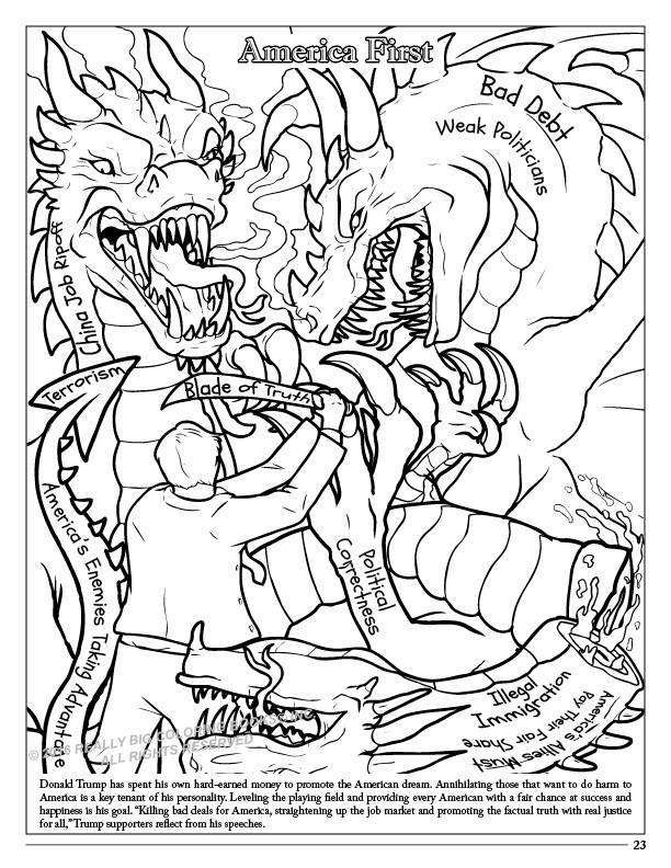 donald trump coloring pages - new trump coloring book lets you find the perfect crayon