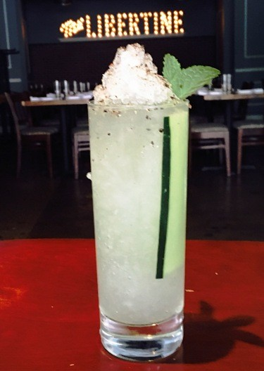 DOROTHY PARKER'S AFTERNOON COOLER | PHOTO COURTESY OF THE LIBERTINE
