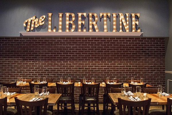 Spring has sprung on the Libertine's new menu. - MABEL SUEN