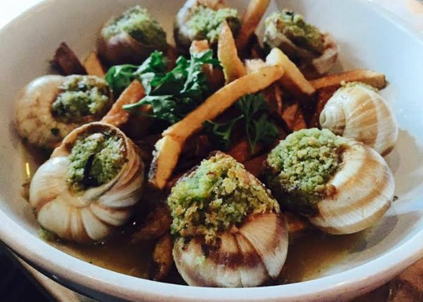 """Escargot and Frites"" fuses Belgian and French classic dishes. - COURTESY OF THE LIBERTINE"