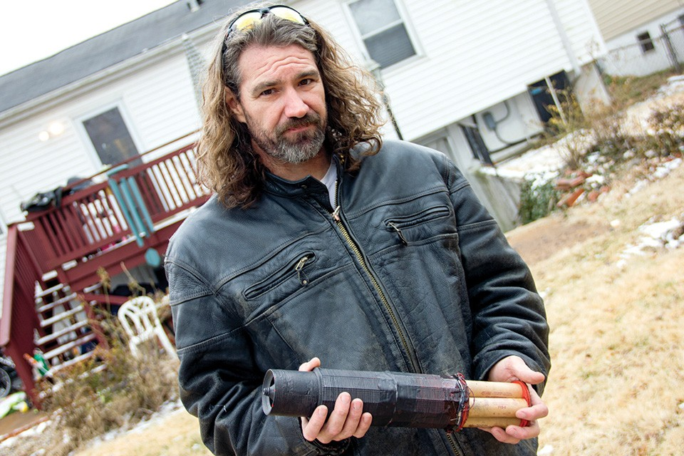 From a St. Louis basement, Brian Stofiel's plastic rockets are printed in a matter of days. - DANNY WICENTOWSKI